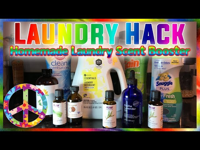 Laundry Hack Homemade Laundry Scent Booster Using